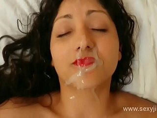 Indian bhabhi blackmailed, used, abused, molested together with gets stupendous facial cumshot hindi audio POV Indian
