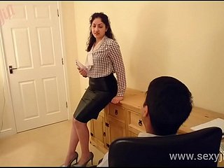 Desi bhabhi molested with an increment of ought back have sex big-shot POV Indian