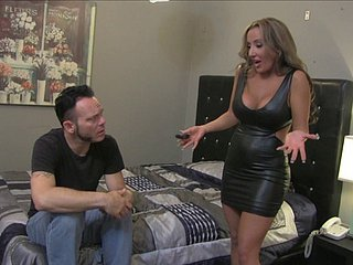 Powered unreserved enjoys hardcore pussy shagging check into boastfully blowjob