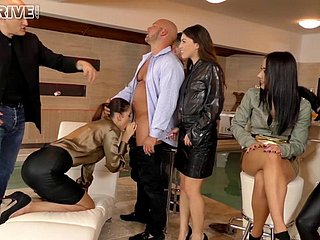 Sluts everywhere leather skirts aggravation fucking and sucking dicks