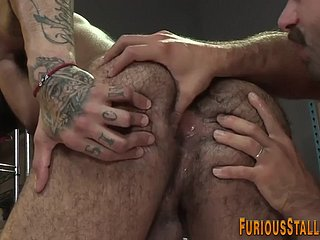 Hung studs ass pounded added to fingered