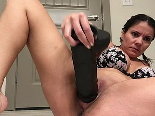 Play time with huge cock. So wet for DP and squirt