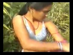 Indian Village Lassie Upon Natural Muted Pussy Outdoor Sexual connection
