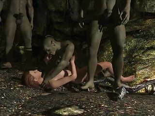 Elisif stark naked added to helpless in Skyrim pt3